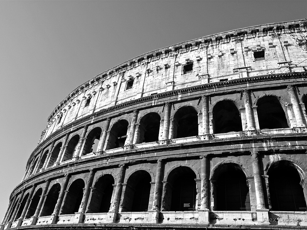 The Colosseum of Ancient Rome by Alex Cassels
