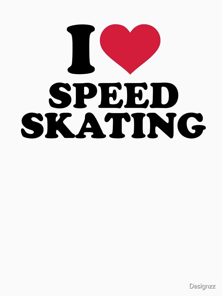 I love Speed skating by Designzz