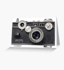 Argus Camera Greeting Card
