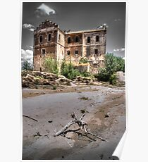 Abandoned, haunted house in Cordoba Poster