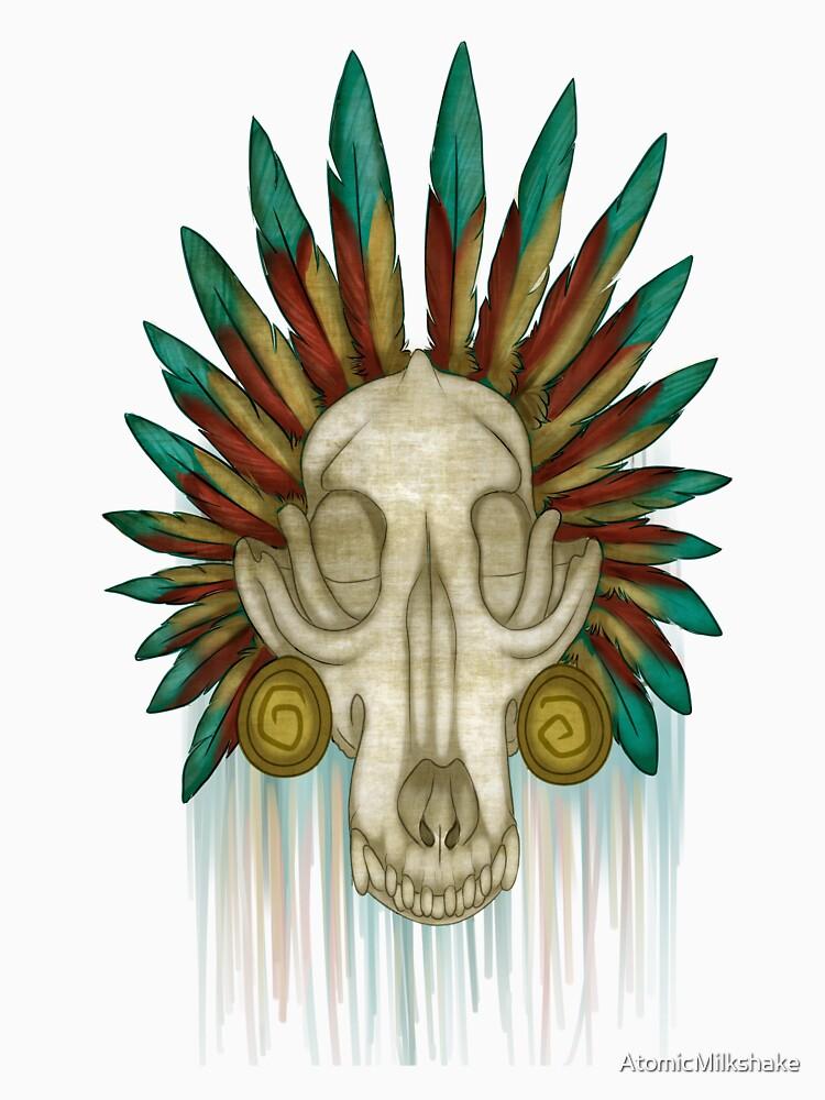 Coyote Skull by AtomicMilkshake