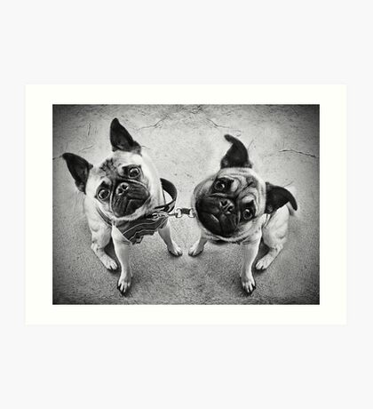 You mean... we are not people?! Art Print