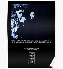 The Sisters of Mercy - Lucretia Poster