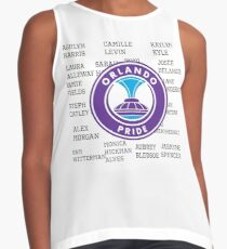 Orlando pride 2016 roster with logo Contrast Tank