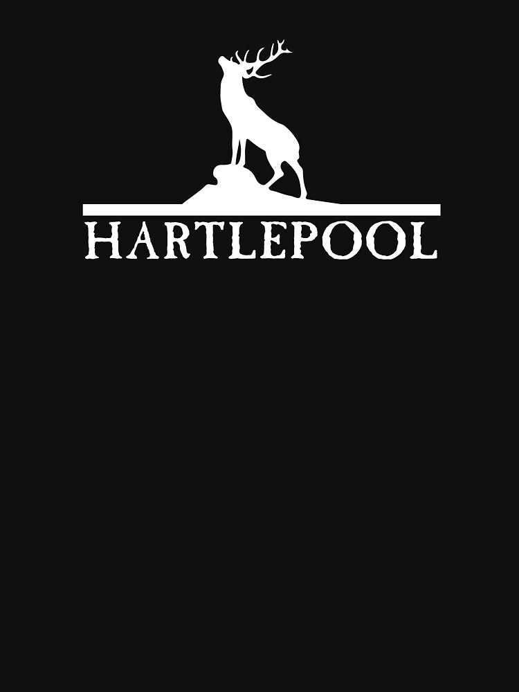 Hartlepool Featuring Stag by shirtsbylamby