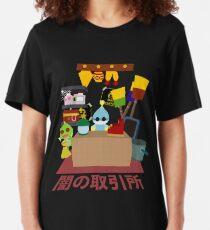 Chao Schwarzmarkt Slim Fit T-Shirt