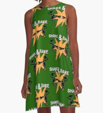 Abarth Shake & Bake Scorpion A-Line Dress