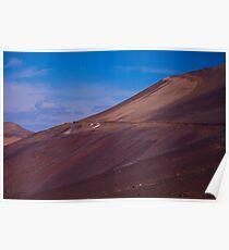 Wadi in the Atacama Poster