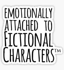 Pegatina emocionalmente apegado a personajes de ficción ™