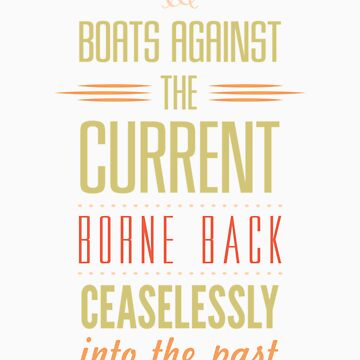 Boats Against the Current by aClockworkJake