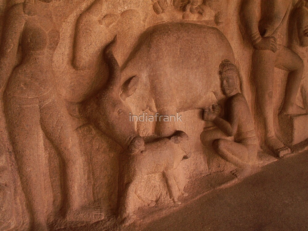 Depicting in stone everyday life by indiafrank