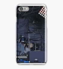 musical instruments on stage iPhone Case/Skin
