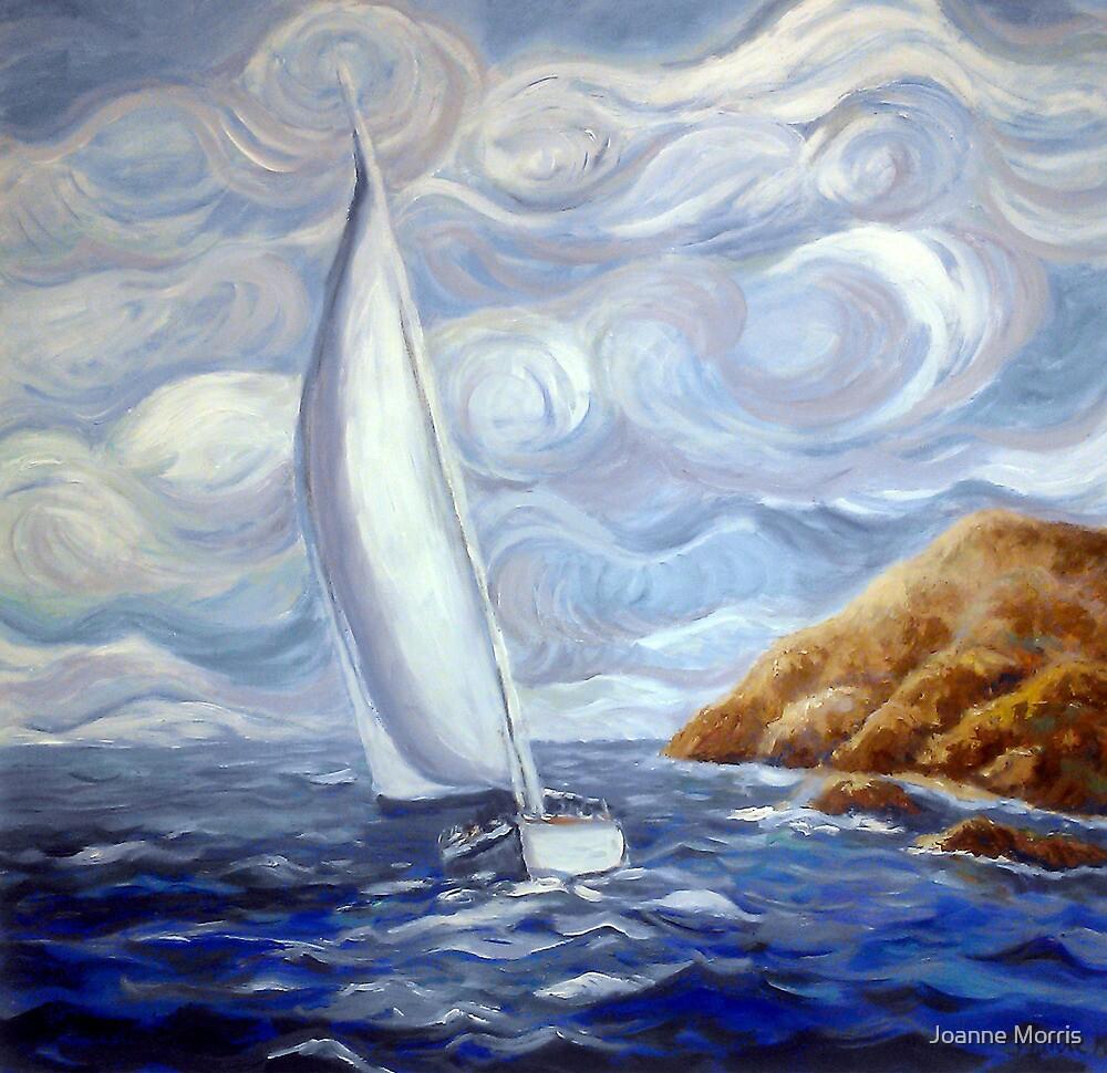 Windy Sail ~Van Gogh style by Joanne Morris