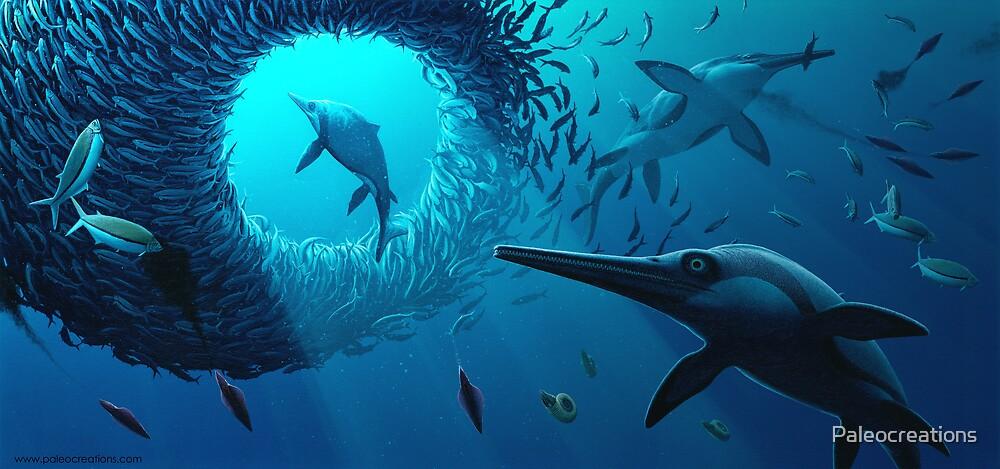 Jurassic Bait Ball by Paleocreations