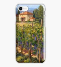 Chianti Vineyard iPhone Case/Skin