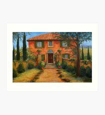 Bramasole, from Under the Tuscan Sun Art Print