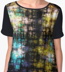 [stained glass] Women's Chiffon Top