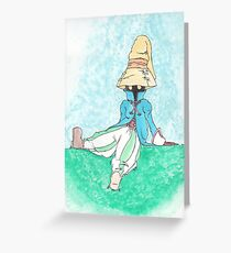 Baby Black Mage Greeting Card