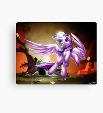 Twilight Sparkle - Avenge Canvas Print