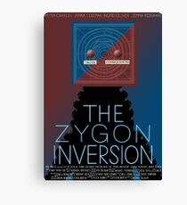 the zygon inversion poster Canvas Print