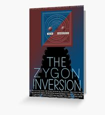 the zygon inversion poster Greeting Card