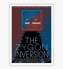 the zygon inversion poster Sticker