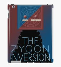 the zygon inversion poster iPad Case/Skin