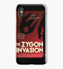 The Zygon Invasion Poster iPhone Case/Skin