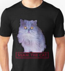 ssam the cat: 2016 [burgundy] Unisex T-Shirt