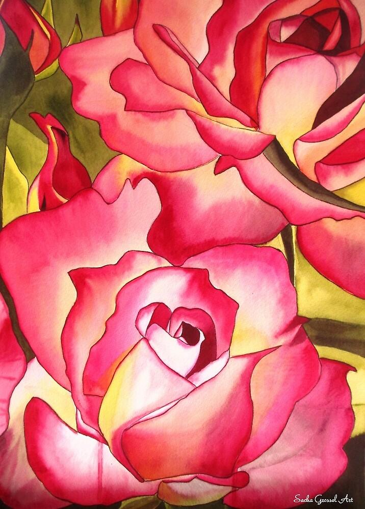Hannah Gordon Rose flower by grosselart