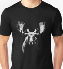 Bull moose white  T-Shirt
