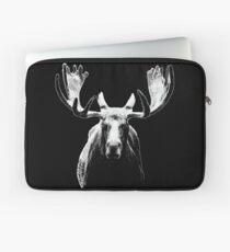 Bull moose white  Laptop Sleeve