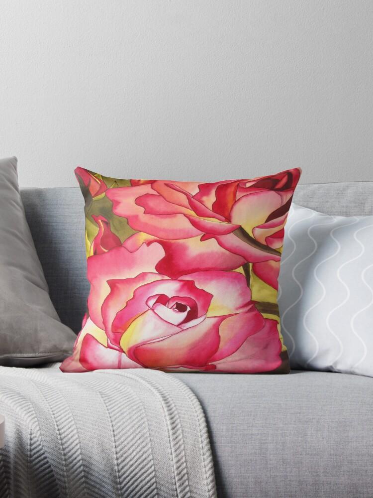 Hannah Gordon pink rose  by grosselart