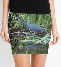 Little Blue Heron Mini Skirt