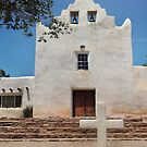 Laguna Mission, New Mexico by Gordon Beck