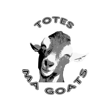 Totes Ma Goats by Treeshius