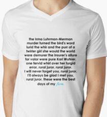 Rural Juror Lyrics Men's V-Neck T-Shirt