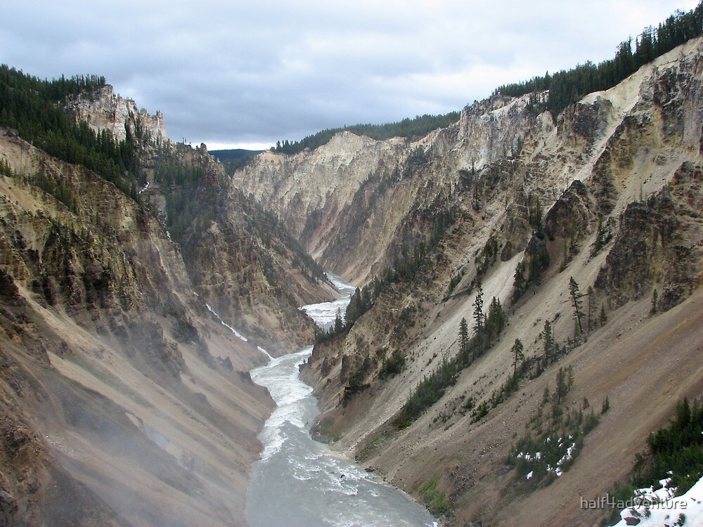 Grand Canyon of the Yellowstone by half4adventure