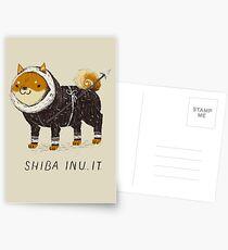 shiba inu-it Postcards