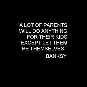 Banksy Quote by deansbbydaddy
