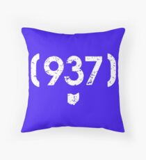 Throw Pillows Redbubble - Area code 937