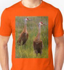 Pair of Sandhill Cranes Unisex T-Shirt