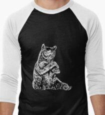 Cool Bear Men's Baseball ¾ T-Shirt