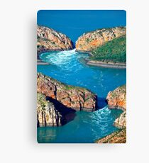 The Horizontal Waterfalls Canvas Print
