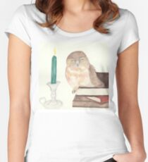 Owl coo Women's Fitted Scoop T-Shirt