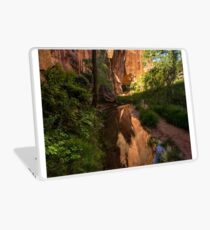 Coyote Gulch Canyon Reflection - Utah Laptop Skin