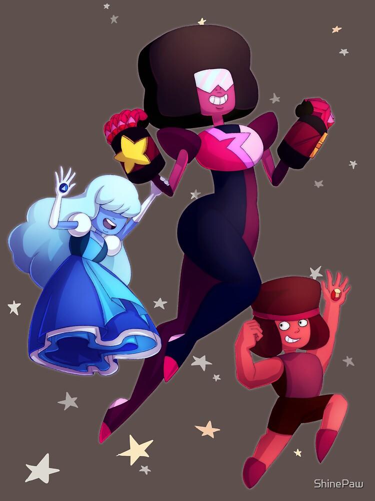 Garnet - Steven Universum Fanart, Saphir, Rubin, Fusion von ShinePaw