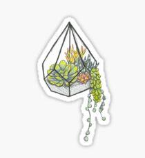 Hanging Terrarium Sticker