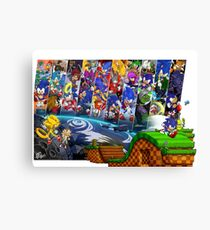 20 Years of Sonic Canvas Print