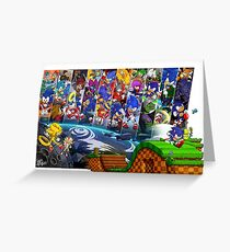 20 Years of Sonic Greeting Card